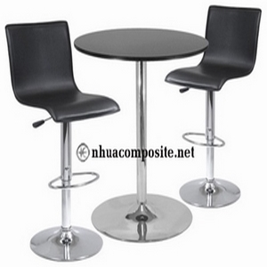 Bàn ghế composite quán bar