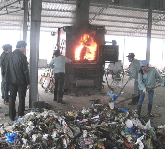 Dịch vụ đốt rác thải Đức Anh
