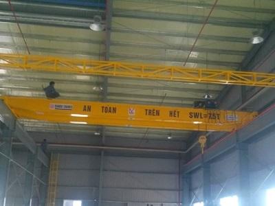 Cầu trục dầm đôi 7,5 tấn
