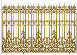 Hàng rào đúc hợp kim nhôm