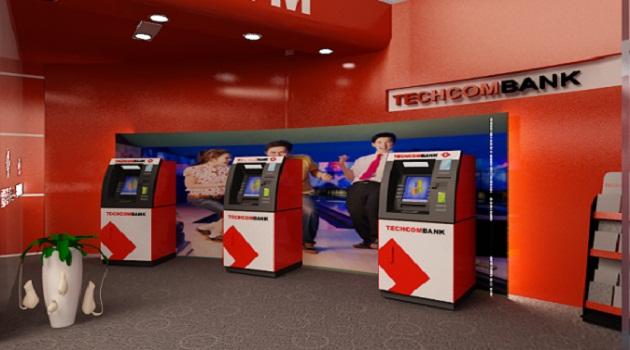 Hình ảnh ATM Techcombank
