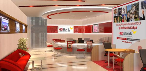 Hình ảnh thiết kế HDBank