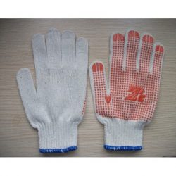 Găng tay bảo hộ hạt nhựa