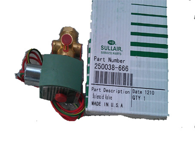 250038-666 Sullair Solenoid Valve