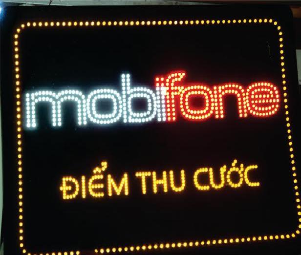Hộp đèn Led Mobifone