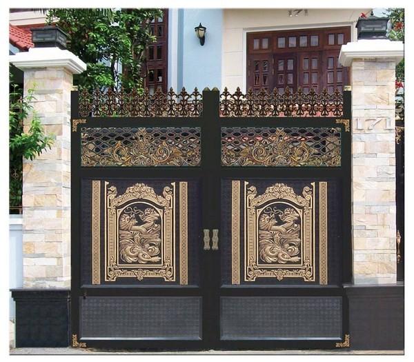 Cổng Nhôm Đúc - Sắt Mỹ Thuật