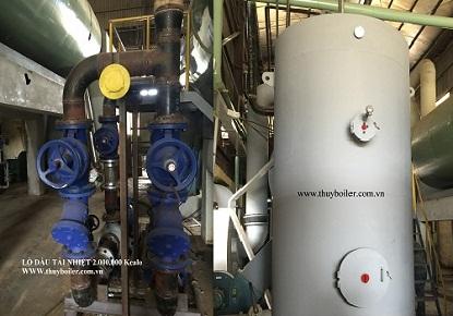 Lò dầu tải nhiệt 2.000.000 Kcalo