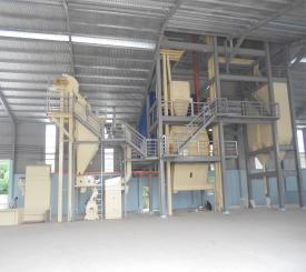 Lắp đặt nhà máy thức ăn gia súc