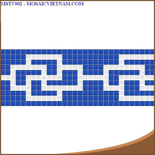 Gạch mosaic viền
