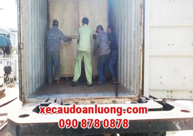 Dịch vụ đóng hàng vào Container