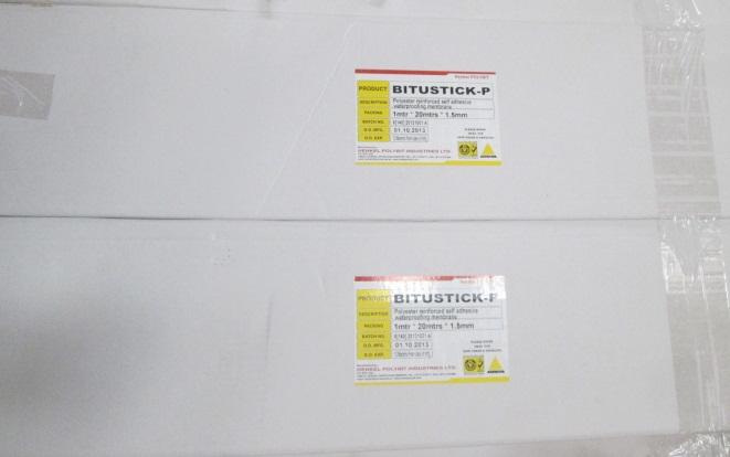 BITUSTICK - Màng chống thấm bề mặt phủ HDPE tự dính gốc bitum