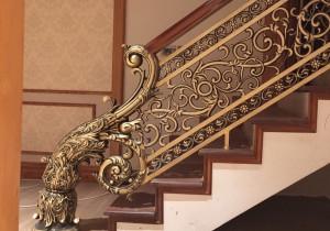 Cầu thang nhôm đúc 025