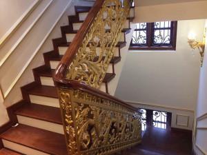 Cầu thang nhôm đúc 024