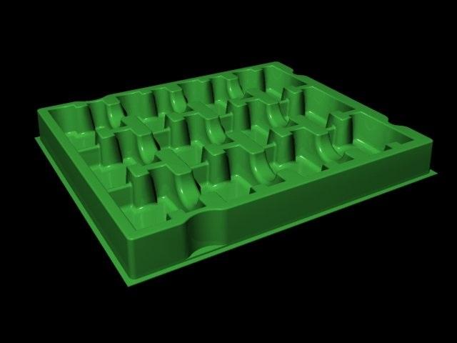Khay nhựa chống tĩnh điện