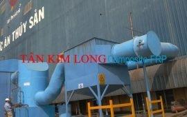 Bồn thép bọc phủ nhựa Composite FRP xử lý chất thải thủy sản