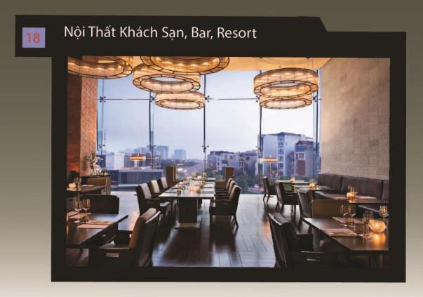 Nội Thất Khách Sạn, Bar, Resort