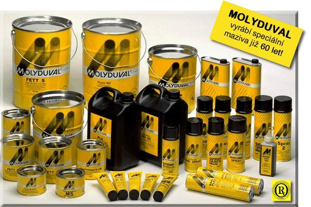 Molyduval – Dầu mỡ bôi trơn đặc biệt