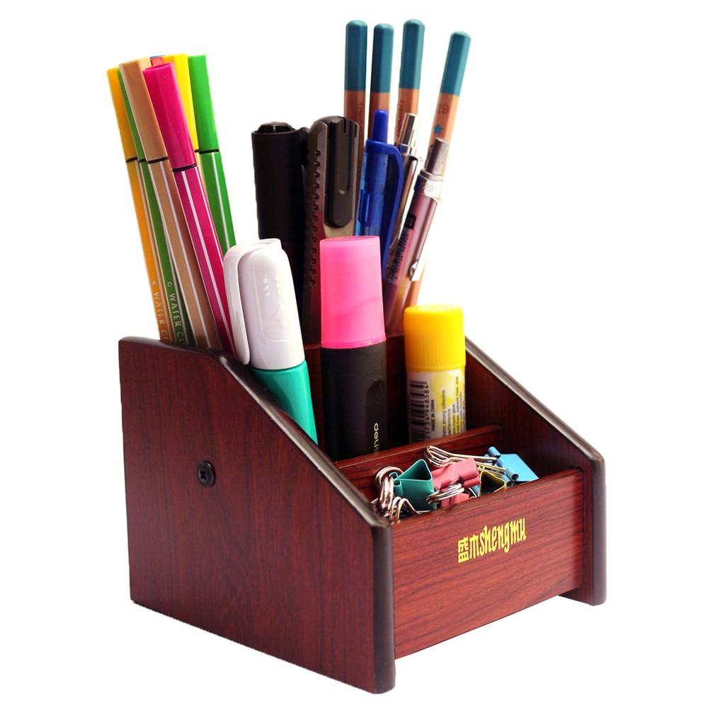 Hộp cắm bút gỗ HX-125