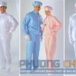 Quần áo công nhân chế biến thực phẩm