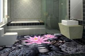 Gạch 3D nhà tắm