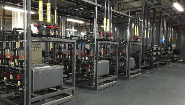 Xử lý nước cho doanh nghiệp sản xuất điện tử