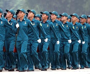 Đồng phục dân quân