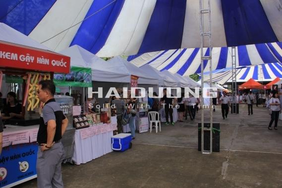 Sản xuất lều bán hàng