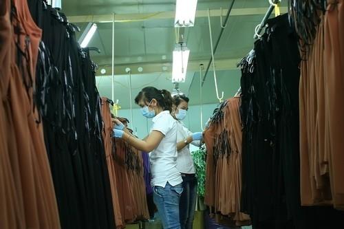 váy xuất khẩu