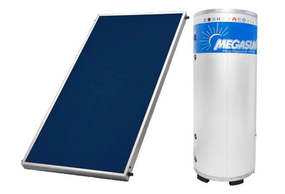 Máy nước nóng NLMT tấm phẳng - bình tách rời