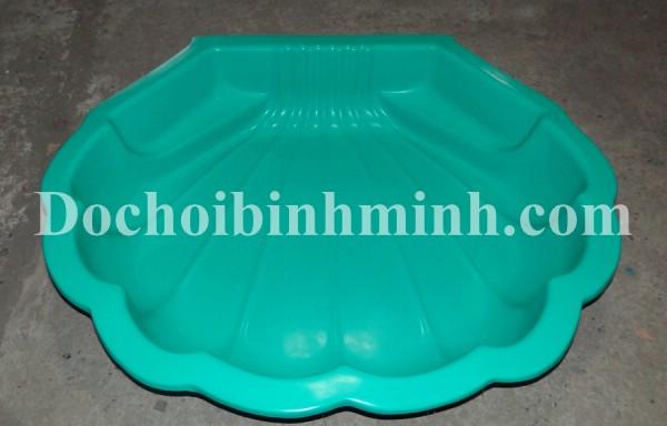 Bể chơi cát nước con sò BM33