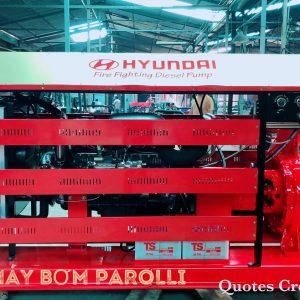 Máy bơm nước Hyundai 125HP