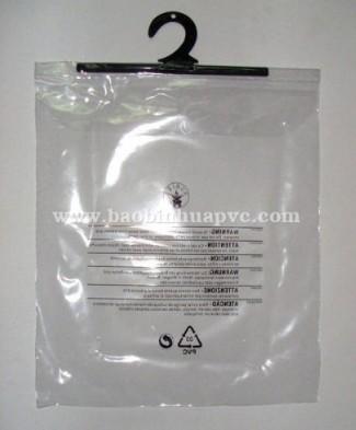 Túi nhựa PVC có móc