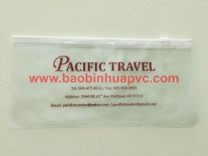 Túi PVC có dây kéo