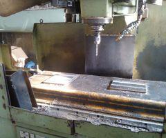 Phay CNC bể máy bơm