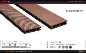 Ván sàn gỗ nhựa ngoài trời