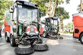 Máy quét đường bằng xe tải