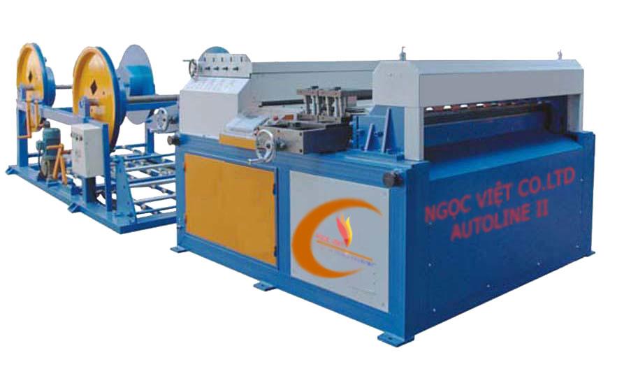 Dây chuyền sản xuất ống gió