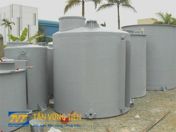 Bồn chứa Axit chất liệu Composite