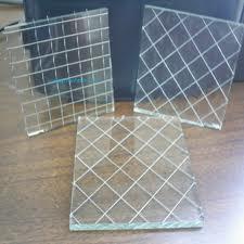 Kính lưới thép chống cháy
