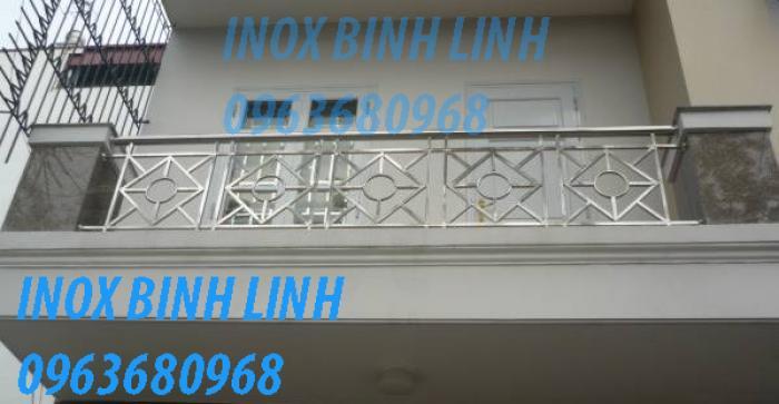Lan can inox
