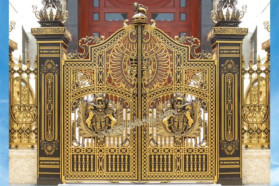 Cổng nhôm đúc G052