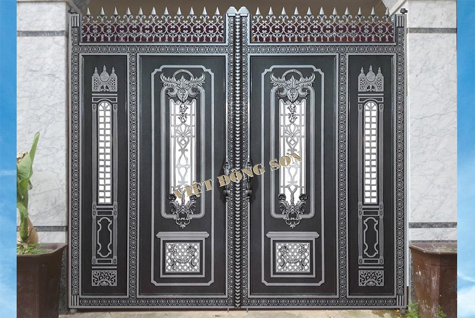 Cổng nhôm đúc G012