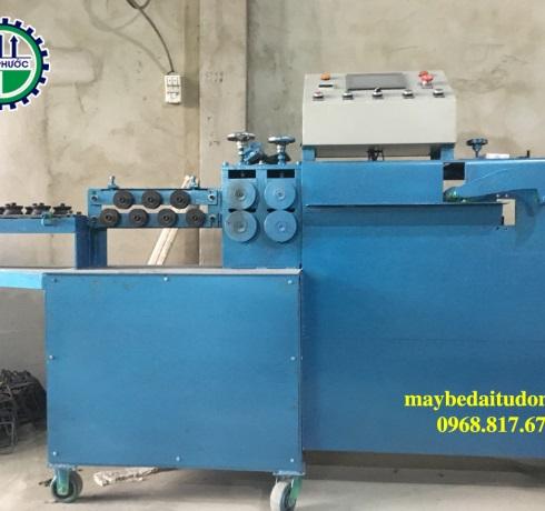 Máy bẻ đai sắt dạng máy đứng bàn bẻ thẳng Giá: Liên hệ