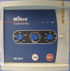 Rơ le bảo vệ chạn đất MK201A
