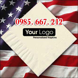 Giấy ăn in logo