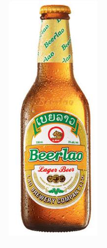Beerlao dạng chai