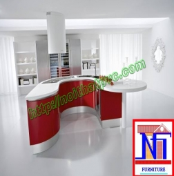 Tủ bếp PVC phủ Acrylic