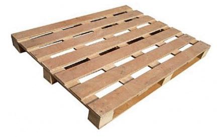 Pallet gỗ 4 hướng nâng 1 tấn