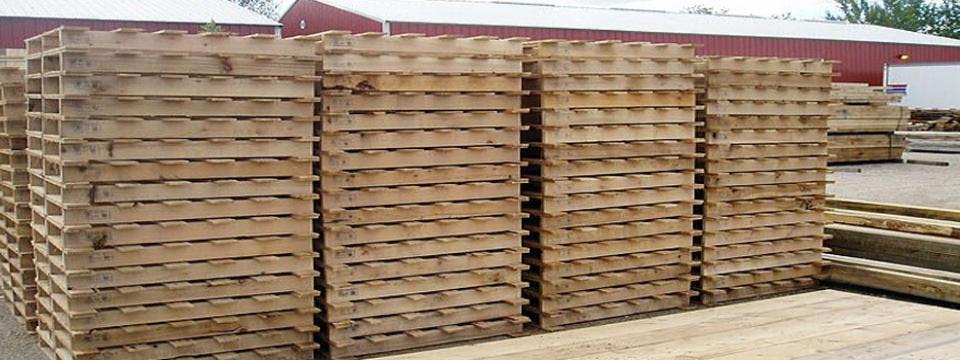 Pallet gỗ theo yêu cầu