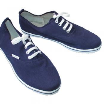 Giày bata Thượng Đình đế kếp màu xanh